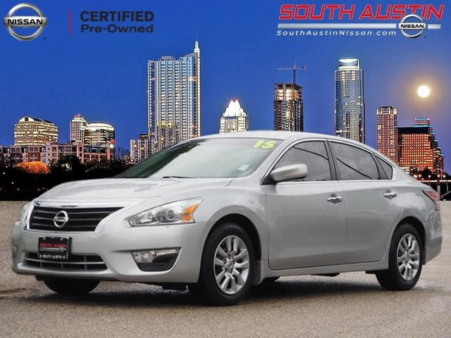 Wonderful Certified Pre Owned 2015 Nissan Altima 2.5 S