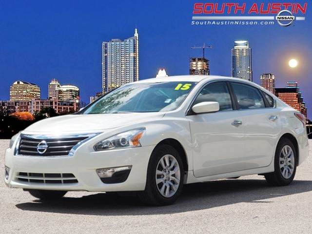 ... Front Wheel Drive Sedan. Certified Pre Owned 2015 Nissan Altima 2.5 S