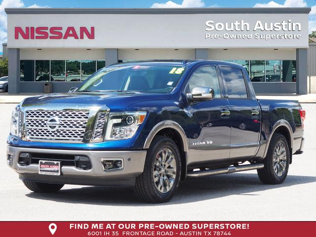 Certified Pre-Owned 2018 Nissan Titan Platinum Reserve