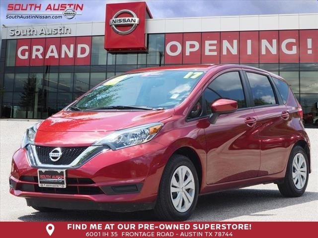 Certified Pre-Owned 2017 Nissan Versa Note SV