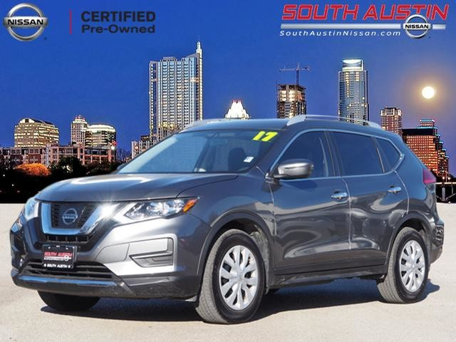 Certified Pre Owned 2017 Nissan Rogue S