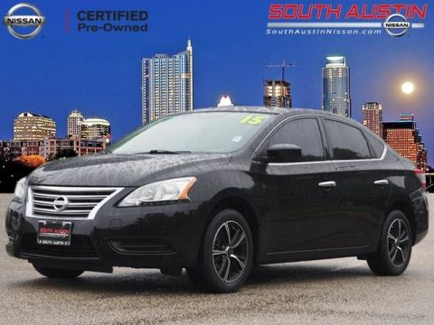 Certified Pre Owned 2015 Nissan Sentra FE+ S